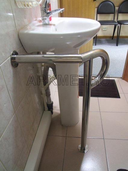 Нестандартный поручень для инвалидов